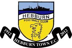 Hebburn Town FC crest
