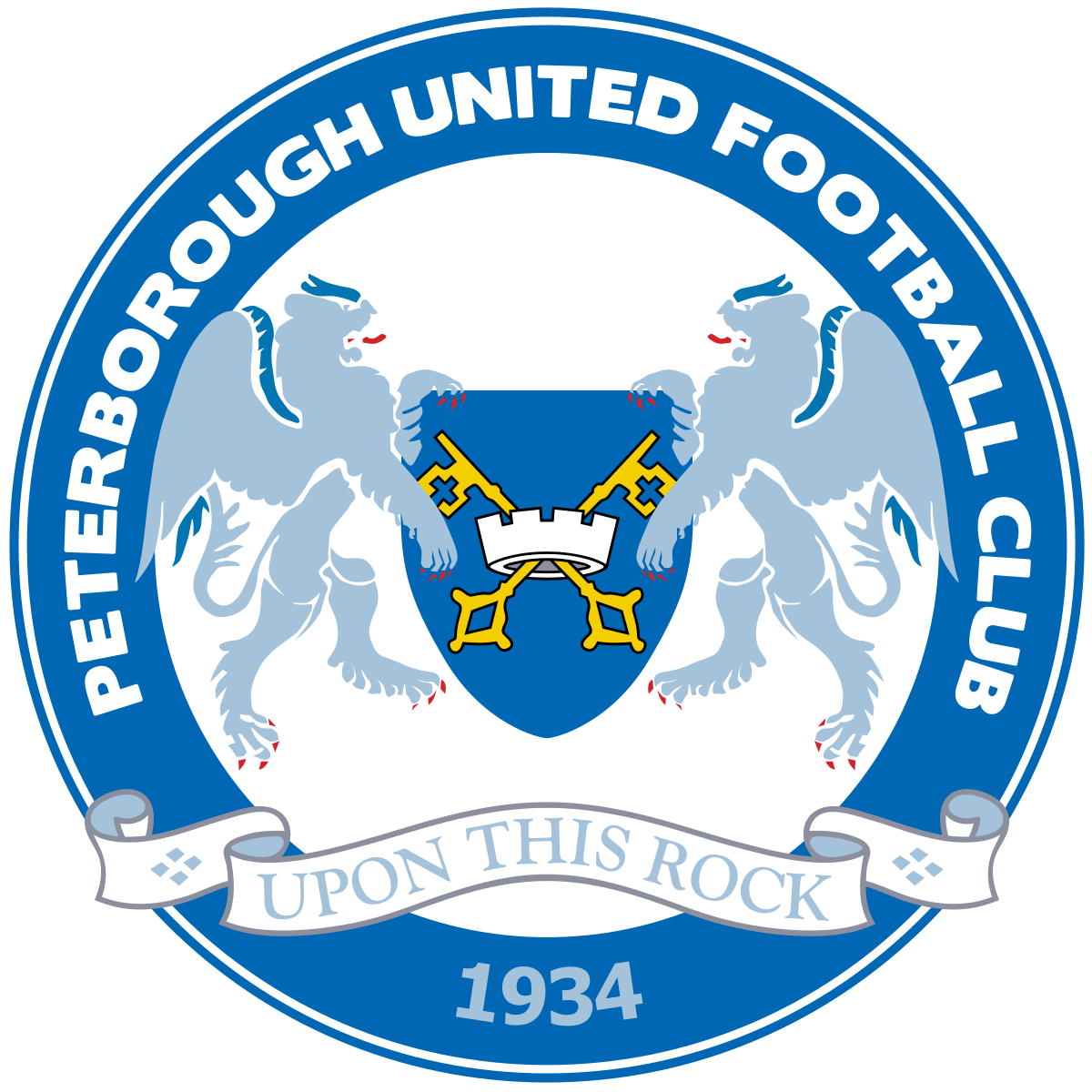 Peterborough united crest