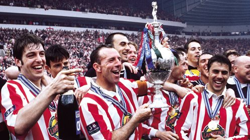 Sunderland are First Division champions in 1999