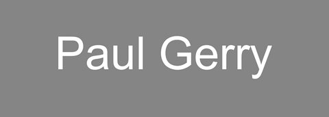 Paul Gerry Logo