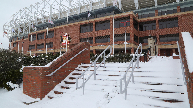 Stadium of Light snow 2